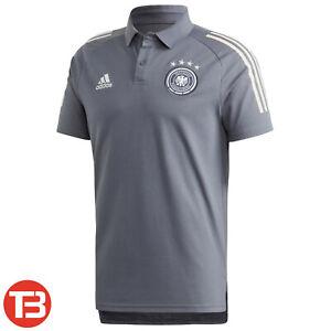 adidas DFB Deutschland Herren Pique Baumwolle Poloshirt Shirt EM 2021 [FI0771]