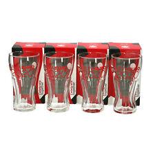 More details for 4 x euro 2020 coca cola  football european cup glasses new & boxed. memorabilia