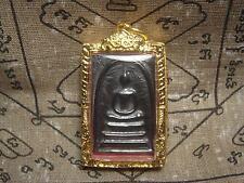 Real hand-carved Phra Somdej Leklai Nature Power WEALTH Amulet