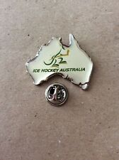 IIHF Australian Team Ice Hockey Pin Badge.