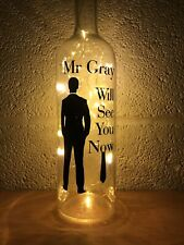 Fifty Shades Light Up Bottle, Gift, Unique, Present