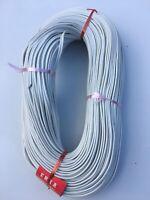 100 Mètres CABLE ELECTRIQUE PLAT 2 Fils - 2x0,75mm 380V T.S. 833