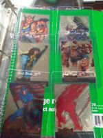 1995 FLEER MARVEL METAL GOLD BLASTER Lot of 6 All DIFFRENT CARDS INSERT CHASE