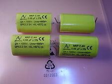 MKP Capacitors 0.68uF 1000VDC 480VAC 5% RM49mm C.4H 4pcs Arcotronics