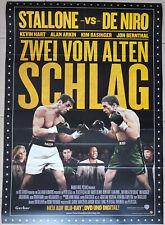Stallone DeNiro ZWEI VOM ALTEN SCHLAG GRUDGE MATCH Movie Film Poster Plakat Bann
