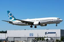 INFLIGHT200 IF737MAX001 1/200 BOEING 737-8 MAX HOUSE COLOUR N8703J WITH STAND