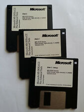 MS-DOS 6.22 + ENHANCED TOOLS! NEW!! FULL VERSION!! WOW! Set Of 3 Diskette Only.
