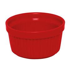 Ramequin in ceramica colore rosso diametro 9 cm EX-44111 x crème brulée etc.