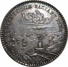 O808 Jeton Chambre de commerce de Picardie Louis XV 1761 Argent SUPERBE SPL