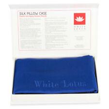Sábanas y fundas de cama Blanco color principal azul