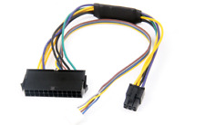 ATX 24-Pin to 6-Pin PCI-E PSU Power Adapter for HP Elite 8100 8200 8300