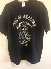 Sons Of Anarchy T-Shirt XL Men's Black Reaper Original Short Sleeve Road Gear