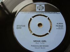 Status Quo Mean Girl Original Vinyl Single 1971 Pye Records