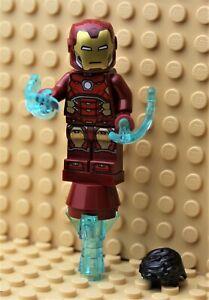 LEGO ® MARVEL SUPER HEROES   FIGUR IRON MAN AUS SET 76166   NEU   SH612