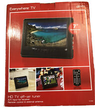 """Everywhere TV HD TV off-Air Tuner 7"""" Widescreen LCD"""