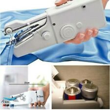 Mini Cordless Hand Held Sewing Machine Portable Electric Tailor Stitch Fabric