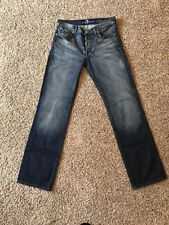 7 For All Mankind Standard Dark Wash Button-Fly Size 30X31.5