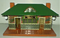 American Flyer Prewar 102 Central Station Tin Lithographed Train Station