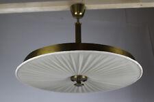 Design Deckenlampe Messing 50s 50er Stilnovo Vereinigte Werkstätten Era Lamp +++
