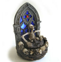 Scary Skeleton Gothic Skeleton LED Halloween Party Desktop Decoration Prop