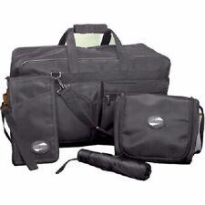 American Tourister 4-Piece Weekender Bag, Passport Wallet, Toiletry Bag,Umbrella
