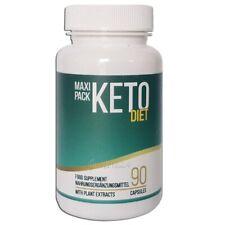 Keto Diet Kapseln - Maxi-Pack 90 Kapseln - Nahrungsergänzungsmittel