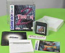Turok 2  Seeds of Evil  Nintendo Game Boy Color OVP in BOX