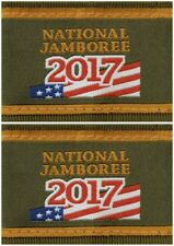 2017 Boy Scout National Jamboree Uniform Shoulder Loops Epaulettes Pair Lot Set