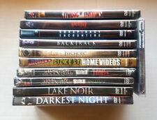 Horror DVD Lot Shock X-Treme, Honeyspider, Backtrack, Darkest Night & More NEW