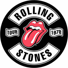 ROLLING STONES Back Patch Toppa Gigante Tour 1978 OFFICIAL MERCHANDISE
