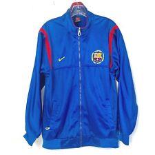 03acba6a7 Nike Barcelona Men size M Full Zip Camp Nou 1957 2007 track Jacket medium  Soccer