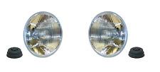2pcs Halogen Headlight Front Lamp Set Suzuki Samurai SJ 1986-1995