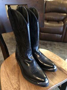 Laredo Black Cowboy Boots 12D - Great Boots!  Make An Offer!