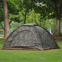 New 4 Season 2 Person Camping Tent Windproof Waterproof Windproof Hiking Outdoor