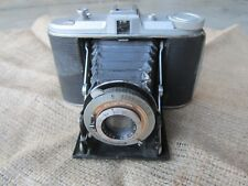 Agfa Isolette folding camera Compur Rapid shutter Antique Vintage UNTESTED