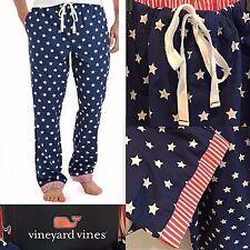 NWT $65 Vineyard Vines Men's Stars & Stripes Cotton Lounge Pants VERY RARE  XXL