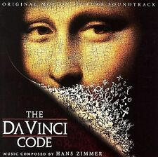 The Da Vinci Code Soundtrack by Hans Zimmer CD Decca 2006 NEW & SEALED