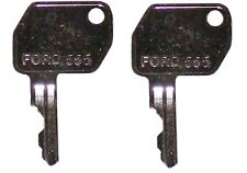 2 Ford New Holland Backhoetractor Heavy Construction Equipment Ignition Key Pair