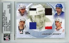 Chris Chelios Ultimate Memorabilia 8th Ed Journey Jersey Silver 14/24
