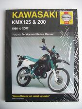 Nuevo Kawasaki Haynes Taller Repuestos reparación Manual Kmx125 kmx200 Kmx 125 200