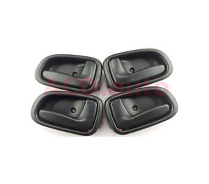 Fit For GEO PRIZM TOYOTA INSIDE DOOR HANDLE Front Left Rear Right 4pcs NEW