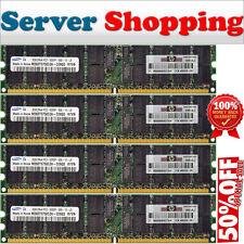 NEW GENUINE-HP 408853-B21 8GB (4x 2Gb) ECC-REG PC2-5300P DDR2 240pins 667Mhz UK
