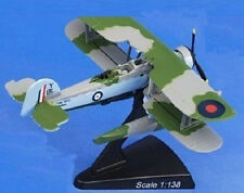 Postage Stamp 5565-1 British Fairey Swordfish FAA 765 NAS 1/138 Scale Diecast