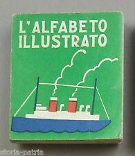 MINI LIBRI PER BAMBINI_ALFABETO ILLUSTRATO_PEDAGOGIA_ARTE_ILLUSTRATO SALANI_1937