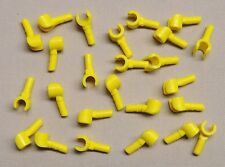 x25 NEW Lego Minifig Hands YELLOW
