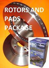For Toyota HILUX 2WD 2005-08 KUN GGN TGN LAN Front Disc Brake Rotors & PADS PACK