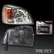 2000-2002 Cadillac DeVille Headlight Lamp Clear lens De Ville Halogen Right