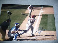 Willie Bloomquist Autographed 12x18 Photo Arizona Diamondbacks