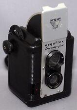 ARGUS Argoflex Seventy-five 75 BOX Vintage Film Camera LUMAR 75mm lens USA
