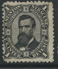 RO 171d--H STANTON 1  CENT PRIVATE DIE MATCH STAMP-47